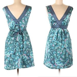 H&M casual Dress with Peacock Detail (41)